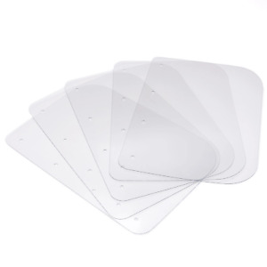 Full Face Shield / Visor - Pack of 5 Replacement Front Visors