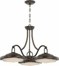 Nuvo 62-172 - 3-Lights LED Dinette Light in Rustic Brass Finish