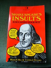 BOOK - SHAKESPEARE'S INSULTS