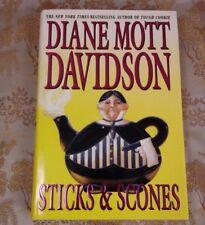 Sticks & Scones: A Novel by Diane Mott Davidson First Edition