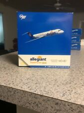 GJ 400 scale diecast model Allegiant MD-80 Commercial Airliner