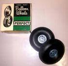 """Perfect 3"""" Rubber Balloon Model Airplane Wheels - One Pair  #72"""