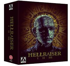 HELLRAISER 1 2 & 3 BLU RAY BOXSET 3 DISCS SET  REGION B (AUATRALIA) BRAND NEW!