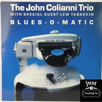 John Colianni Trio  – Blues-O-Matic 1989 Original Promo lp CJ-367 - Jazz EX/EX