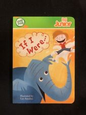 """LeapFrog Tag Junior Book """"If I Were"""" Illustrated By Leo Antolini"""