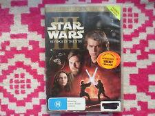 Star Wars III 3 Revenge Of The Sith DVD R4 #6641