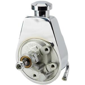 Lares 13153 Reproduction Power Steering Pump, 1960-1979 GM,Chrome