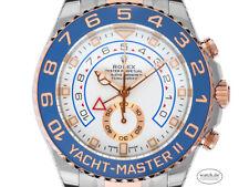 Rolex Yacht-Master II Zertifikat 23.800,-€ Stahl Roségold Everose Automatik