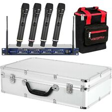 VocoPro UHF-5805 Plus Rechargeable Wireless System with Mic Bag Band 9 LN