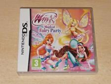 Winx Club Magical Fairy Party Nintendo DS UK PAL **FREE UK POSTAGE**