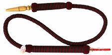 Abu Shisha- Meera 1.86m Red Long Handled Grip Hookah Hose Pipe Detachable Ends