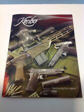2014 Kimber 1911 Pistol Handgun Rifle .45 9mm .22 .380 Catalog Brochure Book