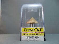 Router Bit- 17mm DIAMOND Vee Grooving DRB129 (TruaCuT)