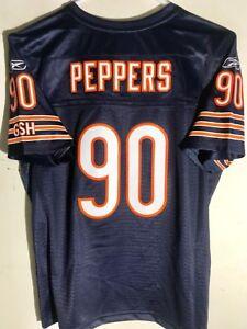 Reebok Women's Premier NFL Jersey Chicago Bears Julius Peppers Navy sz L