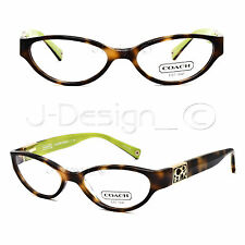 Coach HC6028Q (Madelyn) 5052 (Tortoise) 49/16/135 Eyeglasses Rx Eyewear - New