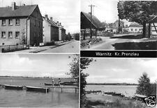 AK, Warnitz Kr. Prenzlau, vier Abb., 1984