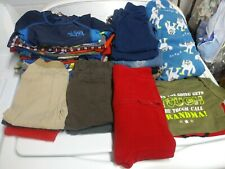 Huge lot 12 month infant boy clothes baby shirts sleepers jacket hoodie pants #3