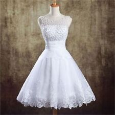 Mint Short Wedding Dress Bridal Gown with Lace Pearls Cheap Wedding Dress Beach