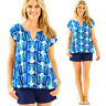 NWT Lilly Pulitzer Shelley Top lightweight Short sleeve Shirt