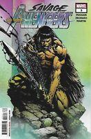 Savage Avengers Comic 3 Cover A First Print 2019 Duggan Deodato Martin Marvel .