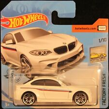 Hot Wheels 2016 BMW M2 WHITE #200 2019 new on short card