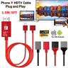 USB To HDMI Cable HDTV Miorring Charger For Micro USB Type C Lightning Phone Pad