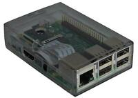 Two Part Raspberry Pi Case - Smoked - PRO SIGNAL