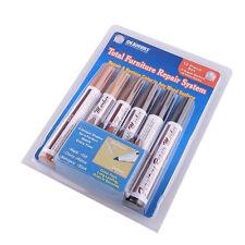 Useful Furniture Repair Markers Stain Scratch Floor Pens Restore Color 12pcs/Set