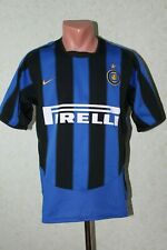 Inter Milan Italy Football Shirt Jersey Maglia Soccer 2003 2004 Home Nike Size S