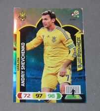 SHEVCHENKO FANS FAVOURITE UKRAINE UKRAJINA FOOTBALL CARD PANINI UEFA EURO 2012