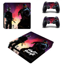 New Sony PlayStation 4 Slim PS4 Console  Vinyl Skin Sticker Decal Cover