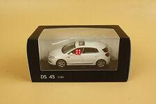 1:43 CITROEN DS 4S WHITE color diecast model