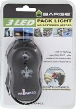 Sarge Boy Scouts Of America Emergency Crank  LED Flashlight NUSCLBS
