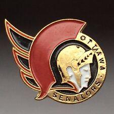 Ottawa Senators NHL Vintage Collectible Metal Enamel Lapel Pin B461