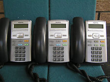 LOT OF 3   Nortel 1110 IP Phone NTYS02BAE6 for Nortel MG1000 phone system