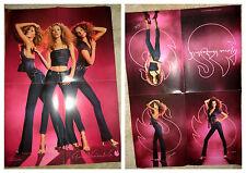 Gloria Vanderbilt poster Kate Moss Daria Werbowy Gisele Bundchen jeans top shoes