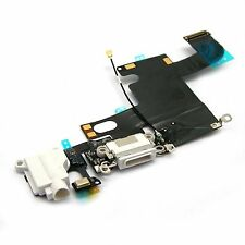 For iPhone 6 Dock Connector Charging Port Headphone Jack Flex Replacement White