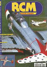 RCM N°170 PLAN : SUNDAY / F3F / JU 52 GRAUPNER / SUPER CHIPMUNK JME / SOPEDRA