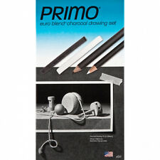 General Hb Primo Charcoal Pencil 12/Box