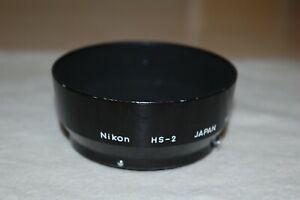Nikon HS-2 Lens Hood Shade for Ai Ai-s 50mm f1.8 f2