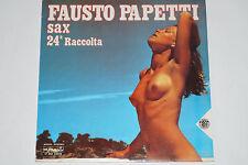 Fausto PAPETTI - 24a RACCOLTA-LP NUDE Cover/DURIUM Rec. (17 dul 25026) 1977