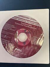 Dell - Windows Vista - 32 Bit SP1 - Reinstallation DVD
