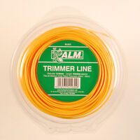 ALM 2.4mm x 90M Yellow Trimmer Strimmer Line Wire Cord Medium Duty Petrol SL008