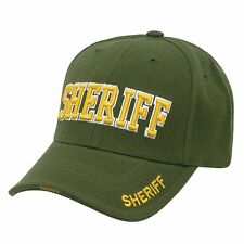 Green Sheriff Law Enforcement Police Deputy Adjustable Baseball Cap Caps Hat