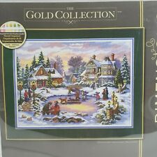 Dimensions The Gold Collection #8569 A Treasured Time Cross Stitch Kit