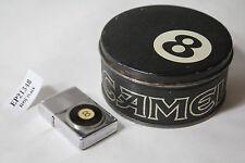 Camel 8 ball Zippo lighter ashtray tin collectible old vintage EP21348