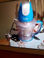 Ninja Storm Blender Blue 400 Watt Food Processor Chopper preowned