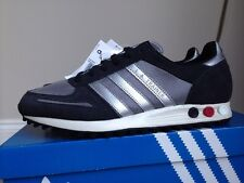 adidas L A Trainer Size 8 Retro 80s Football Casuals BNIB Grey & Silver