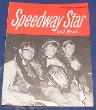 Speedway Star Magazine & News W/E 11th October 1968