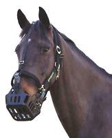 New Shires Greenguard Muzzle Anti Grazing Muzzle Pony Size